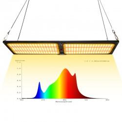 qb576加红光植物生长灯240W量子板301b植物补光灯