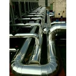 岩棉白铁皮保温设备铝皮管道保温工程承包