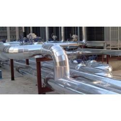 玻璃棉管道保温工程公司防腐铁皮保温施工技术