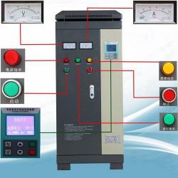 批发供应90kW四行中文软起动柜 电机控制箱
