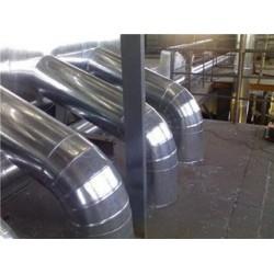 蒸压釜设备保温防火玻璃棉白铁皮保温工程