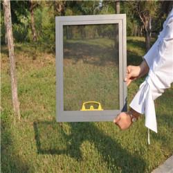 PVC包塑纱网 不锈钢隐形防蚊蝇