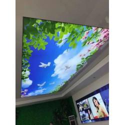 软膜天花吊顶要求   客餐厅装修灯箱选择