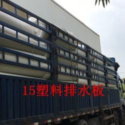宁波15塑料排水板/车库滤水板//施工详情