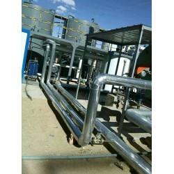 管道保温工程承包设备白铁皮岩棉保温施工技术