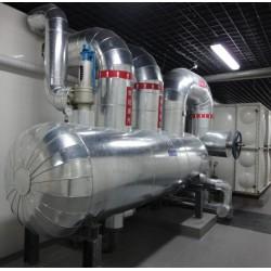 蒸汽管道保温工程施工防腐设备铁皮保温施工队