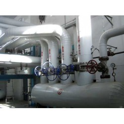 暖气管道保温工程化工设备玻璃棉铁皮保温承包单位