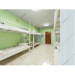 东莞铁制高低床艾尚家具高低床