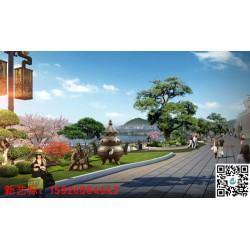 新艺标环艺 上海园林景观规划 贵州艺术景观 重庆园区大门