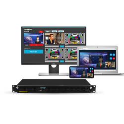 北京新维讯livemix cloud演播室远程互联系统