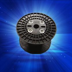 PC500塑胶电线卷线盘,工字包装胶轮