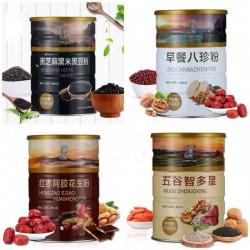罐装谷物代餐、代用茶生产、销售、代加工