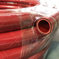 生产彩色夹线DN35中频炉用无碳胶管绝缘4KV过冷却水胶管