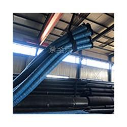 大口径吸排胶管8寸 非标定做低压法兰胶管 排污水胶管