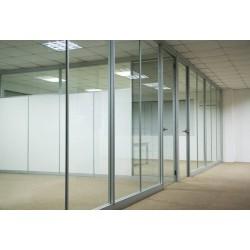 密云区安装玻璃隔断安装单层玻璃隔断